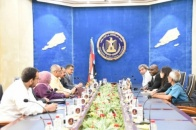 Chairman of the National Assembly meets representatives of the Office of the UN Special Envoy to Yemen