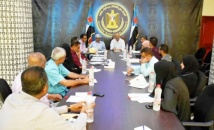 The General Secretariat meeting discusses preparations for reconciliation and tolerance event