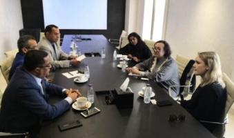 Al-Khobji and Al-Naqib meet with British Deputy Ambassador to Yemen