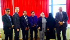 Southern Transitional Council Presidency leaders meet European Union Ambassador and the European delegation
