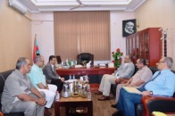 President Al-Zubaidi meets leadership of the General Secretariat and directs for preparations of local leaderships annual meeting