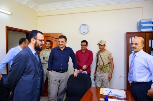 The Vice-President of the Transitional Council praises the discipline of the General Secretariat staff
