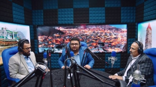 """President and Vice President of the Southern Transitional Council inaugurate """"HONA ADEN"""" radio"""