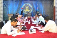The General Secretariat of the Transitional Council holds its periodic meeting under the chairmanship of Lamlas