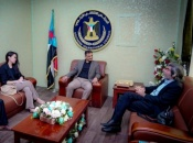 The Secretary-General discusses with advisers of the international envoy the political process and ways to bring peace to Yemen