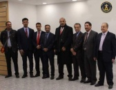The President of the Southern Transitional Council Aidaroos Al-Zubaidi arrives to the British capital London