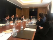 President Aidaroos Al-Zubaidi meets representatives of international non-governmental organizations in London