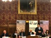 President  Al-Zubaidi, participates in the second symposium of the British Parliament Committee