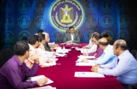 The General Secretariat reviews the participation of the Transitional Council Mission in international forums