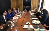 President Al-Zubaidi meets representative of World Historical Leaders organization in London