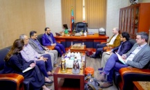 Vice President of the Transitional Council meets Head of the International Crisis Group