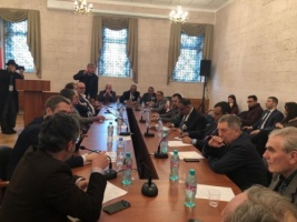 President Al-Zubaidi meets the Director of Arab and Islamic Studies Center in Russia