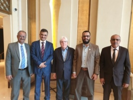 Vice President and Secretary General of the Transitional Council meet   UN Envoy to Yemen