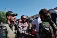 Vice President of the Transitional Council inspects fighting fronts positions by Dhalea borders