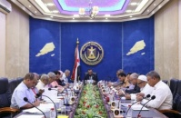 The Transitional Council Presidency holds its periodic meeting chaired by the Vice President