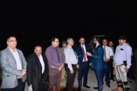 President Al-Zubaidi returns to Aden the capital after successful international tour