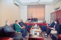 President Al-Zubaidi meets Director of the Office of the UN Envoy in Aden the capital