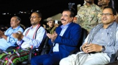 Chairman of National Assembly attends 3rd anniversary celebration of Hadramout coast liberation in Aden