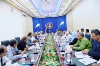 Transitional Council Presidency holds its weekly meeting and discusses performance of General Secretariat and local bodies