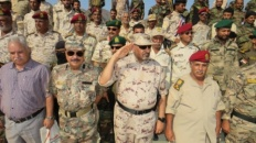President Al-Zubaidi inspects a number of military units in Aden the capital