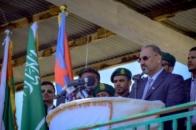 President Al-Zubaidi attends anniversary celebration of Aden historic declaration and Transitional Council establishment and liberation of Al-Aar in Yafea