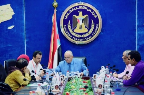 The Southern Transitional Council Committee for Relief and Humanitarian Aids holds its first meeting