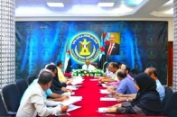 The General Secretariat holds its periodic meeting under the chairmanship of ِِAl-Ja'di