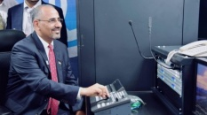 President Al-Zubaidi inaugurates two southern TV satellite channels to broadcast from Aden the capital