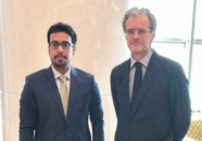 The Deputy of the Head of Foreign Affairs Department meets the French Ambassador to Yemen