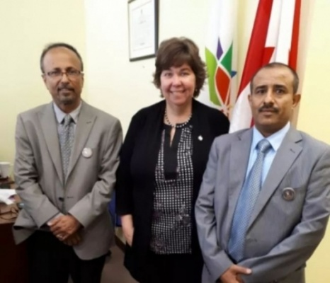 Director of Transitional Council Office in Canada meets Canadian Parliament member for Foreign Affairs