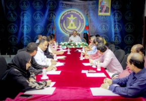 The General Secretariat holds its periodic meeting under the chairmanship of Al-Ja'di