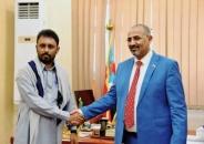 President Al-Zubaidi meets delegation of Hadramout headed by Sheikh Amr Ibn Habrish