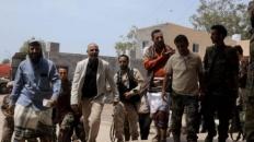 President Al-Zubaidi visits Al-Sha'ab camp in Aden the capital