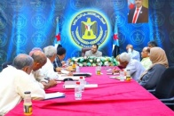The first consultative meeting of economic bodies and decision support center of the Transitional Council and National Association for Scientific Research