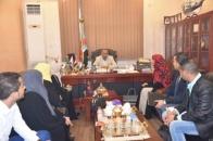 President Al-Zubaidi meets the delegation of Geneva Call