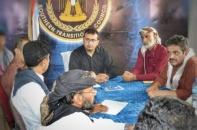 Al-Awlaki meets the anti-corruption commission in Shabwa province