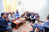 Major General Ben Brik meets Teachers Affairs Committee of the coast of Hadramout