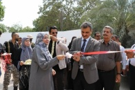 The Secretary-General inaugurates the Training Center of the Transitional Council