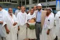 The first pilgrims batch of wounded and martyrs' families and resistance men travel for Hajj