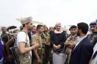 The Secretary-General visits Mahfid after been cleared of terrorists