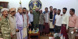 Vice President of the Transitional Council meets family of martyr Mounir Abu Al-Yamamah
