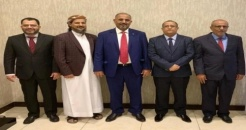 President Al-Zubaidi arrives in Jeddah to attend the dialogue called for by Saudi Arabia