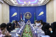 Al-Wali chairs a meeting of heads of southern community organizations in Aden the capital