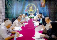 The General Secretariat discusses its plans and preparations for the coming mass rally event
