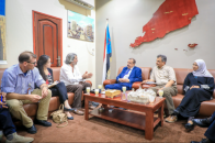 Chairman of National Assembly discusses latest developments in the south with Office Director of UN Envoy
