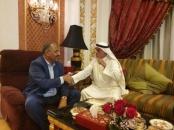 President Al-Zubaidi meets Sultan Al-Dahab and Sheikh bin Sabah in Jeddah