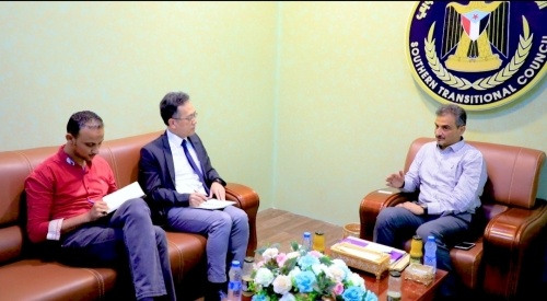 The Secretary General meets Deputy Political Affairs Officer of the UN Envoy
