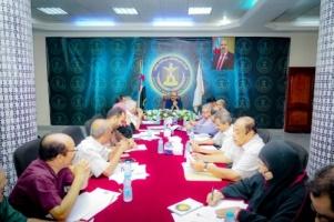 Al-Jadi chairs the periodic meeting of the General Secretariat