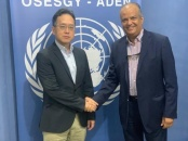 Shatara meets Deputy Political Advisor of the Office of the UN Special Envoy to Yemen