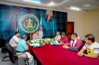 The Secretary-General meets leadership and staff of Radio Huna Aden FM